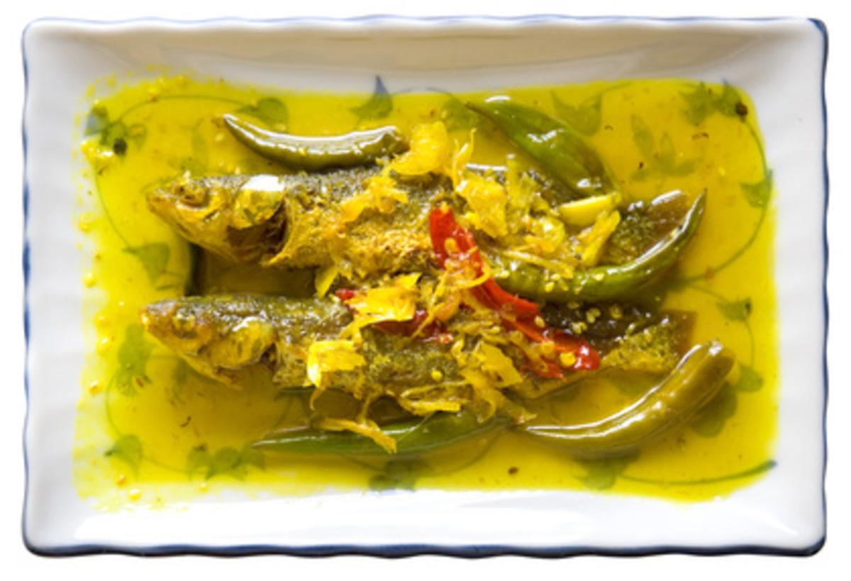 Acar Hoo - Penang Nonya Pickled Fish Image: © AdrianCheah - Fotolia.com