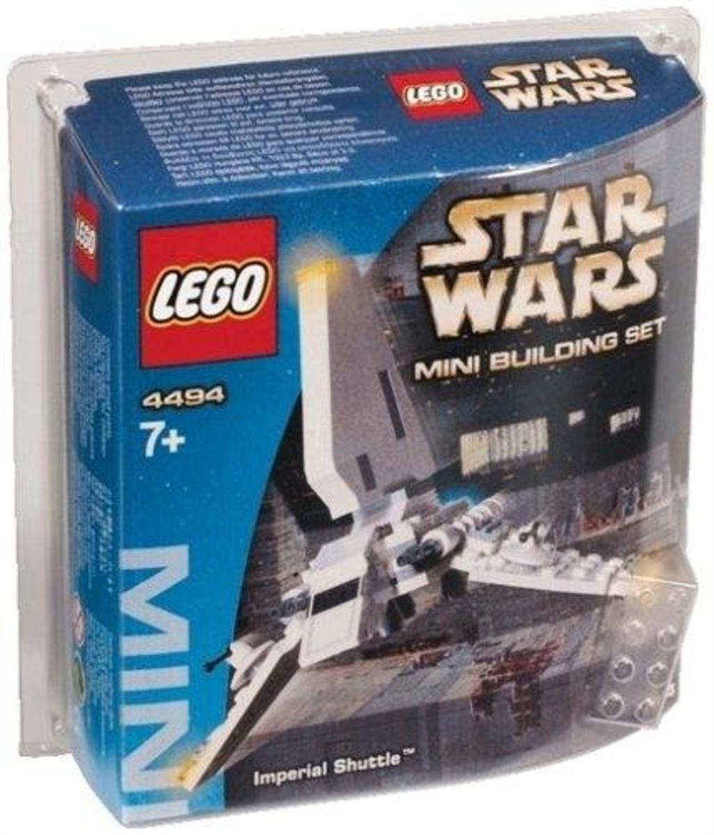 LEGO Star Wars Imperial Shuttle 4494 Box