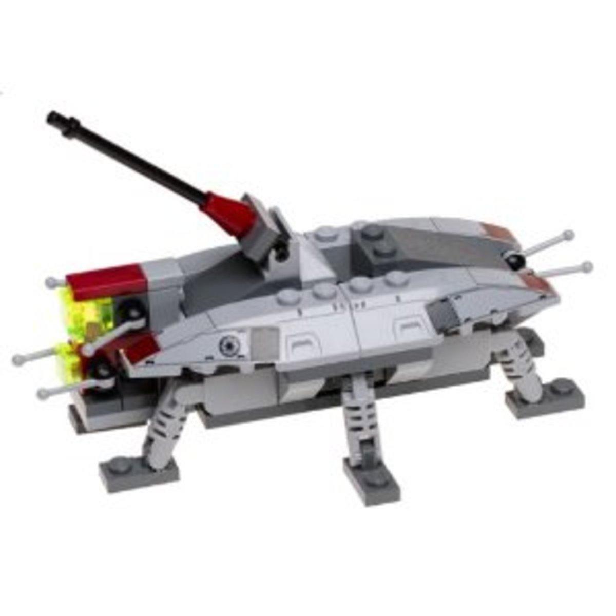 LEGO Star Wars AT-TE 4495 Assembled