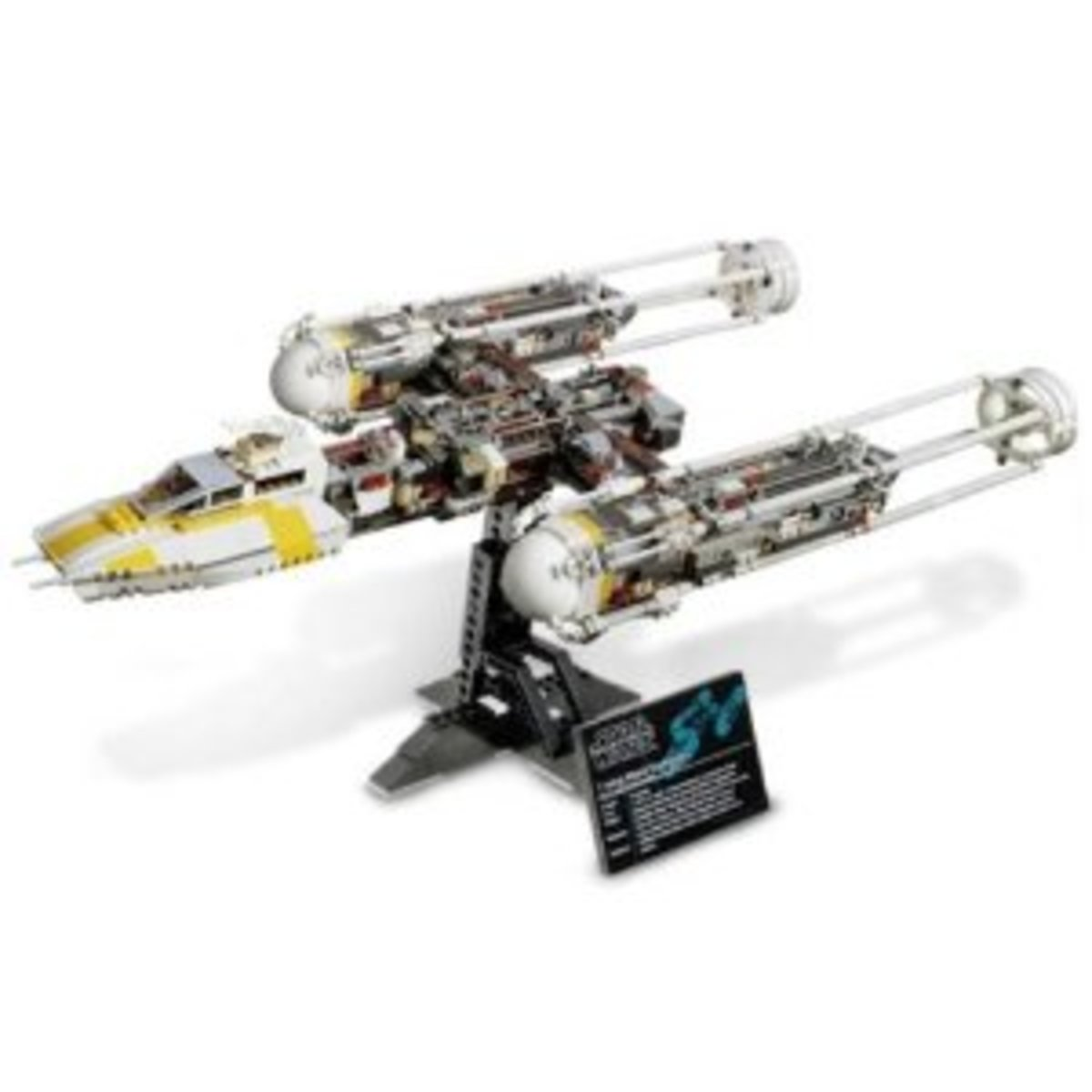 LEGO Star Wars Y-Wing Attack Starfighter 10134 Assembled