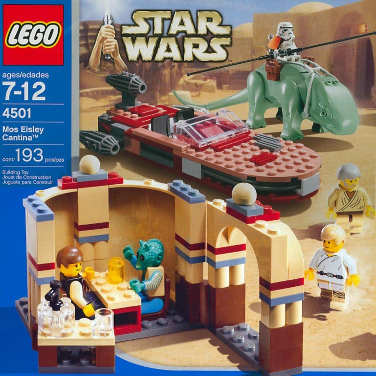 LEGO Star Wars Mos Eisley Cantina 4501 Box