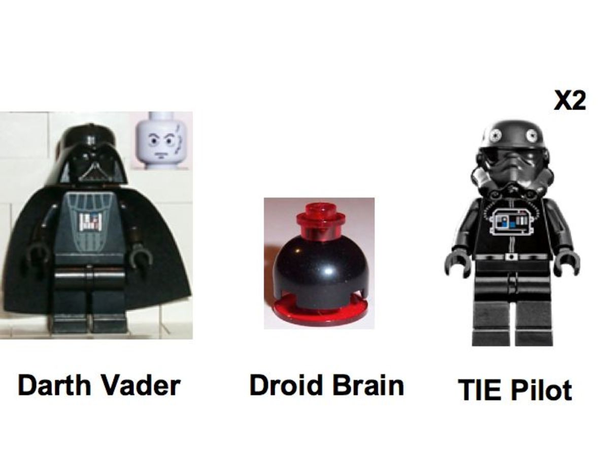 LEGO Star Wars TIE Collection 10131 Minifigures