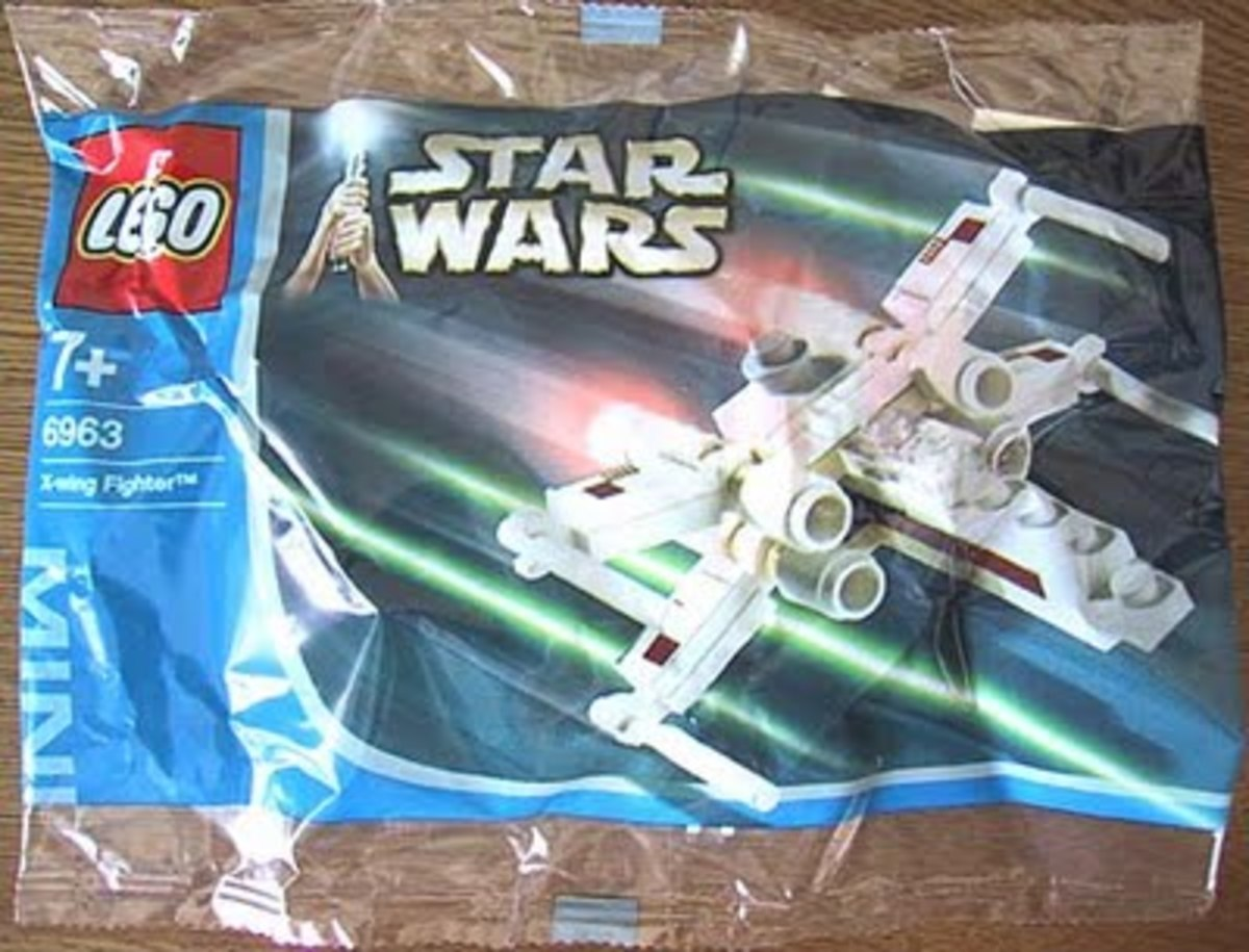 LEGO Star Wars X-Wing 6963 Bag