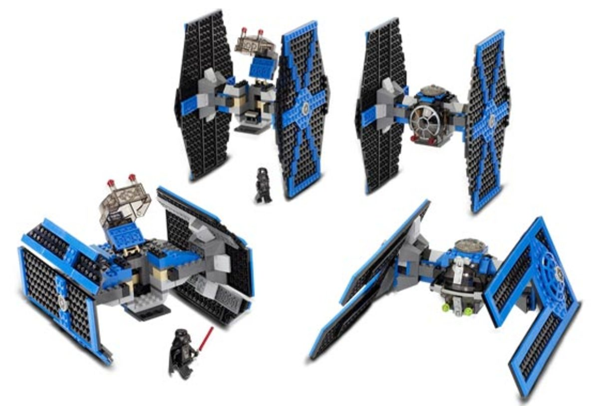 LEGO Star Wars TIE Collection 10131 Assembled