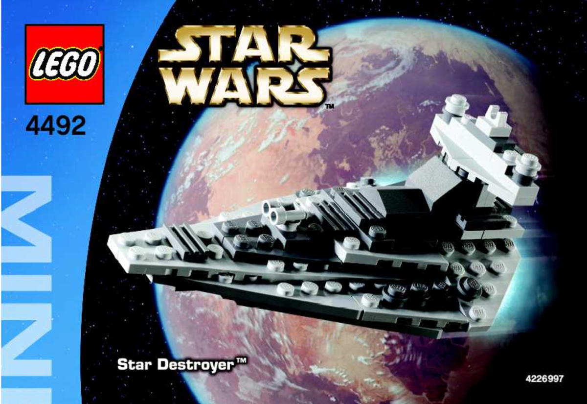 LEGO Star Wars Star Destroyer 4492 Box