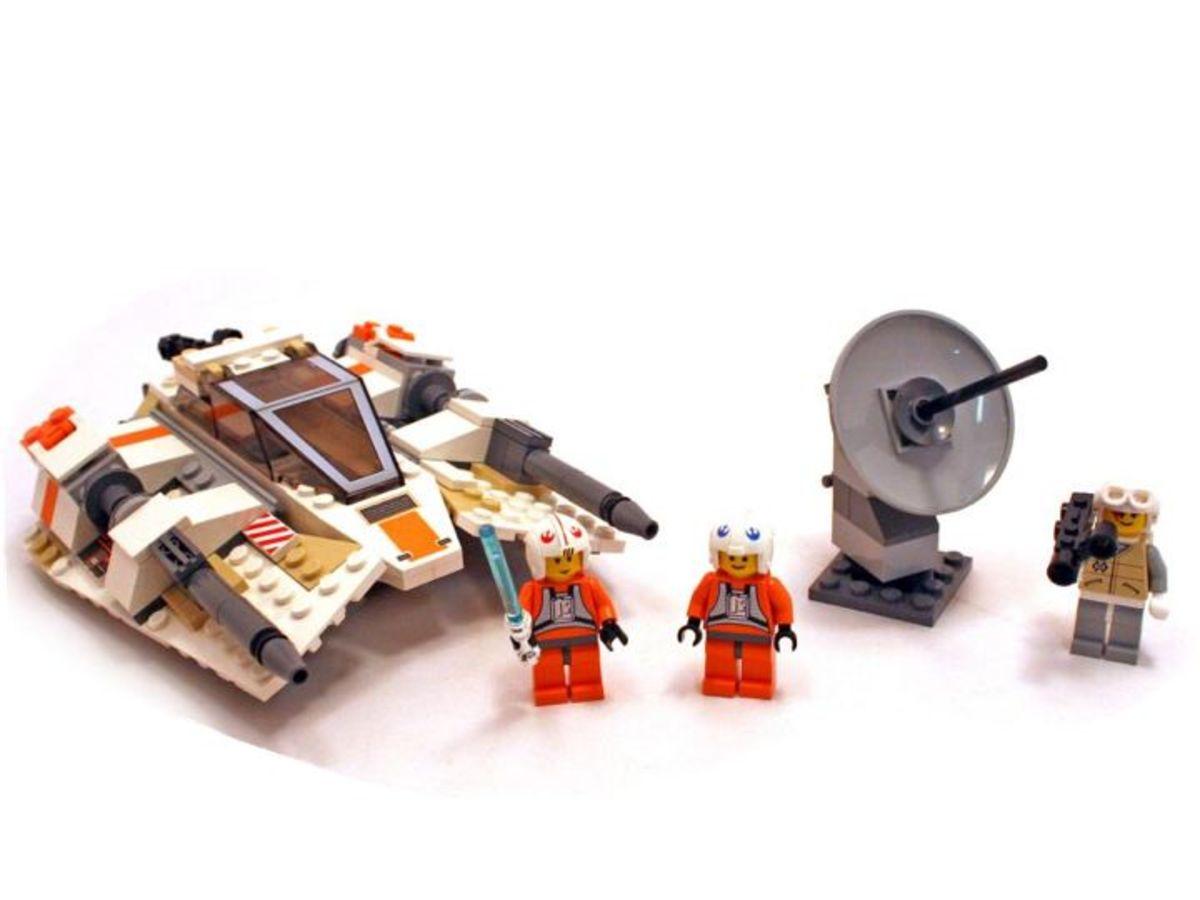 LEGO Star Wars Rebel Snowspeeder 4500 Assembled