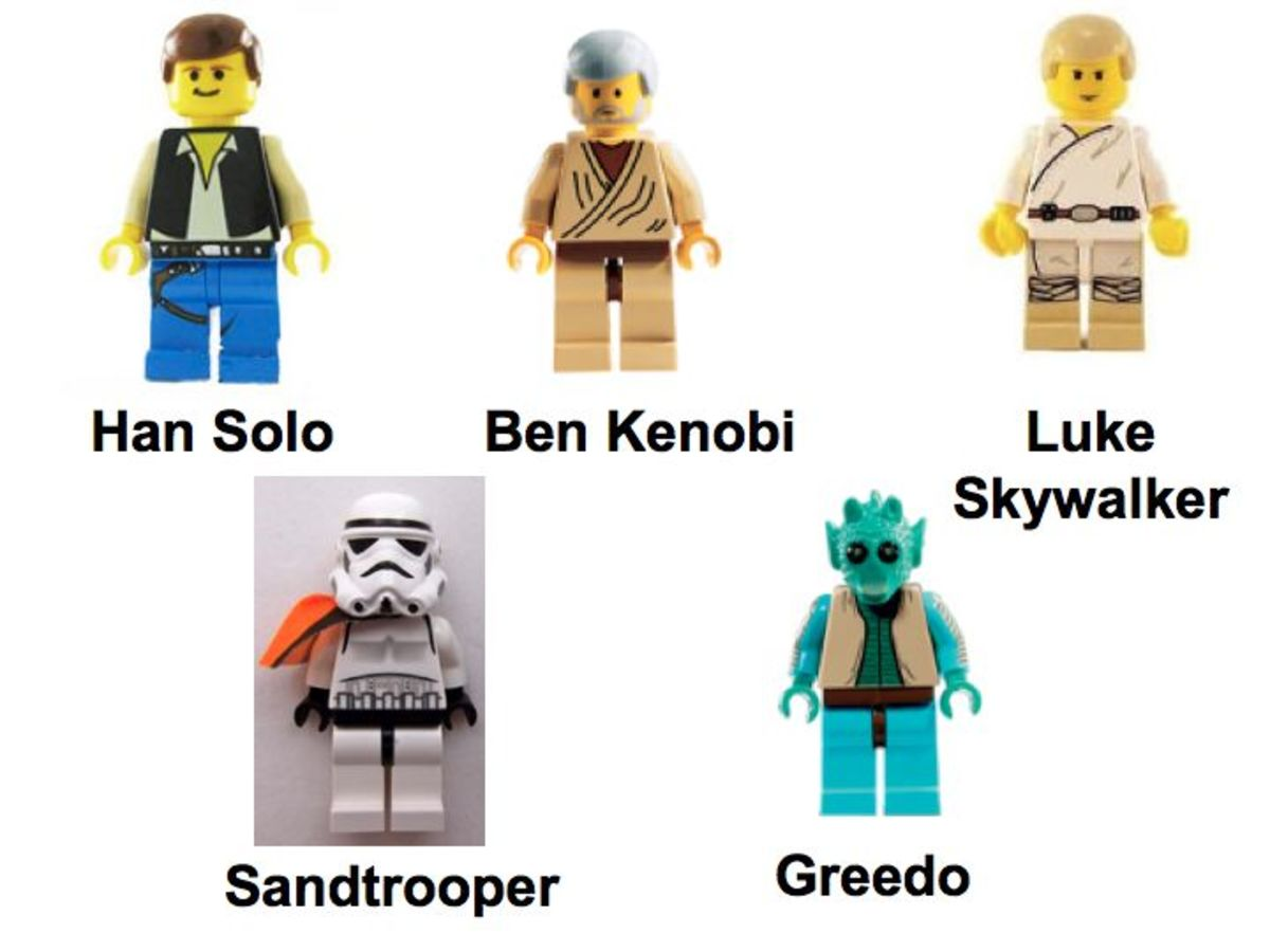 LEGO Star Wars Mos Eisley Cantina 4501 Minifigures