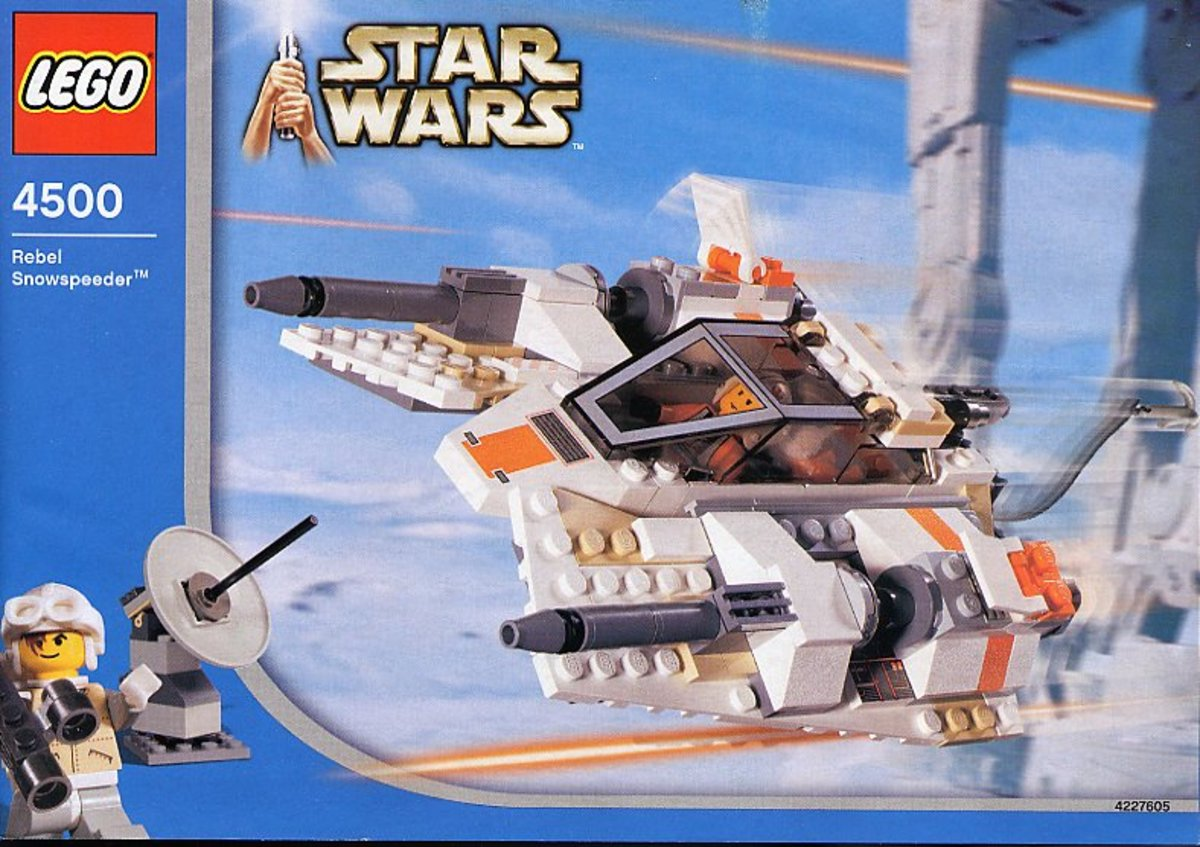 LEGO Star Wars Rebel Snowspeeder 4500 Box