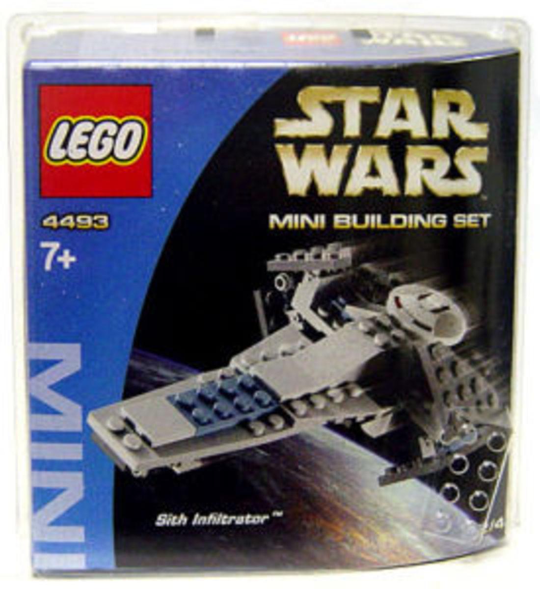 LEGO Star Wars Sith Infiltrator 4493 Box