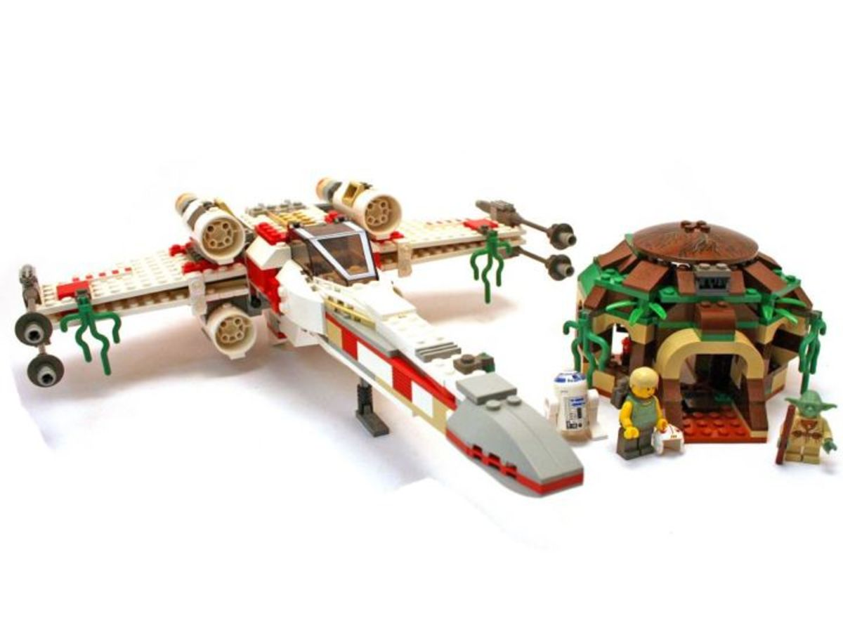 LEGO Star Wars X-Wing Fighter 4502 Assembled
