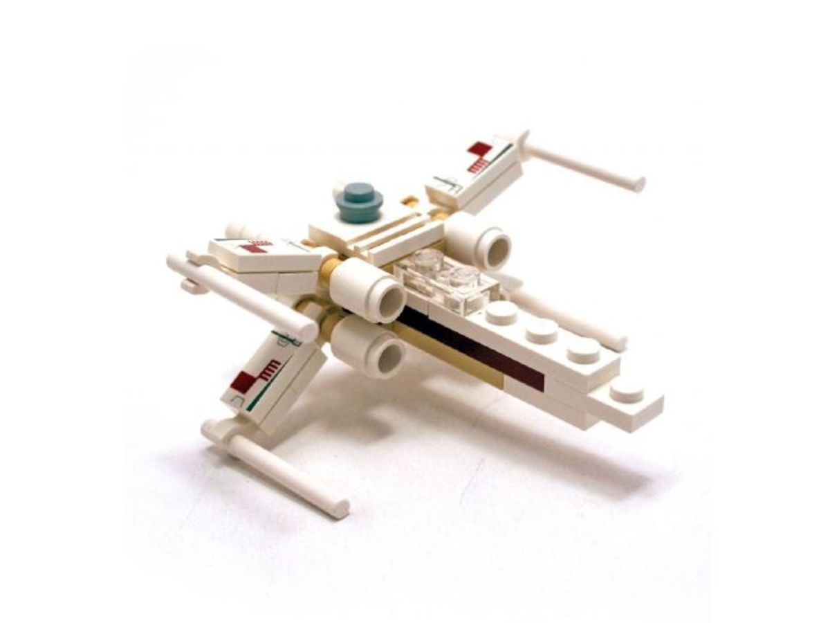 LEGO Star Wars X-Wing 6963 Assembled