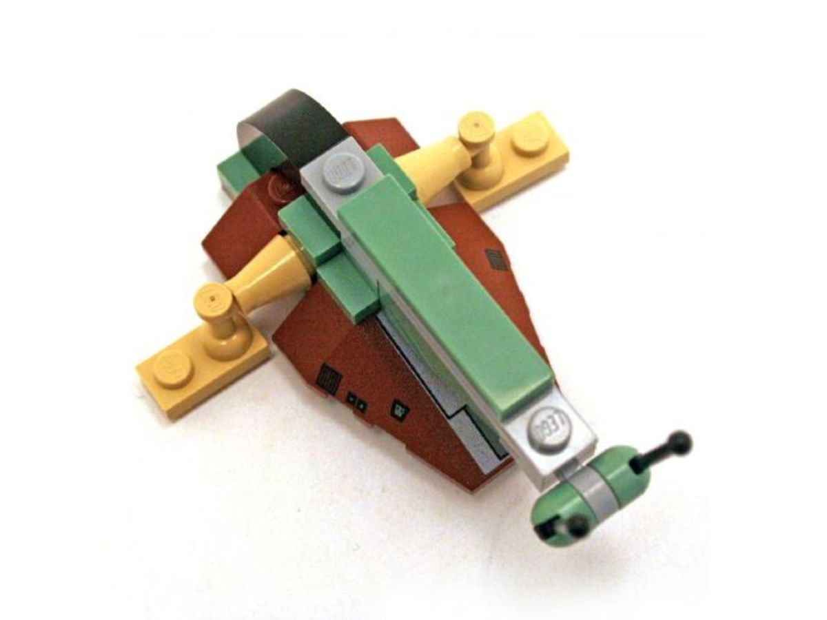 LEGO Star Wars Boba Fett Slave 1 6964 Assembled