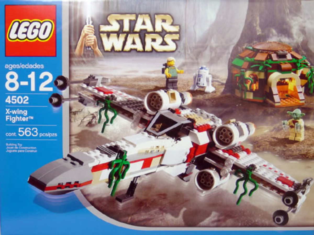 LEGO Star Wars X-Wing Fighter 4502 Box