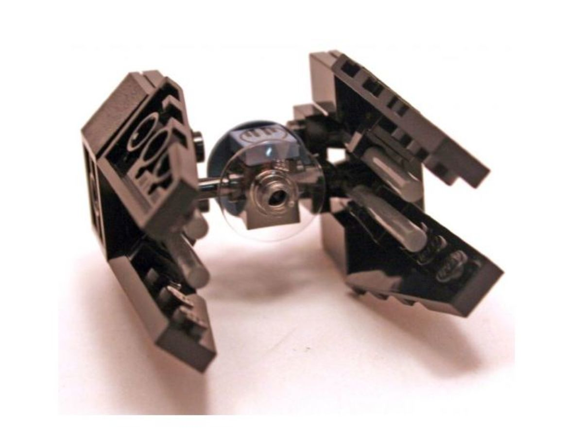 LEGO Star Wars TIE Interceptor 6965 Assembled