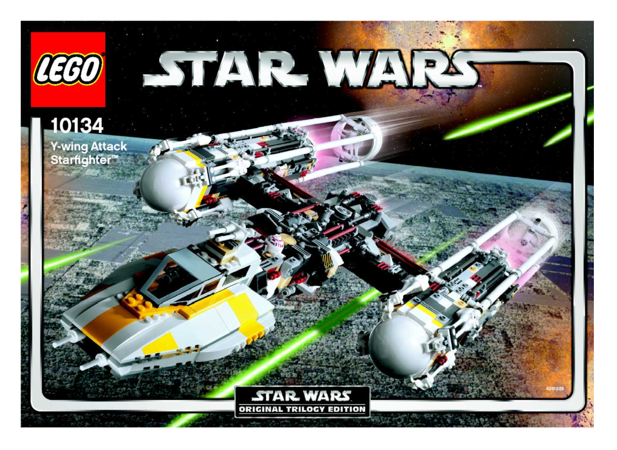 LEGO Star Wars Y-Wing Attack Starfighter 10134 Box