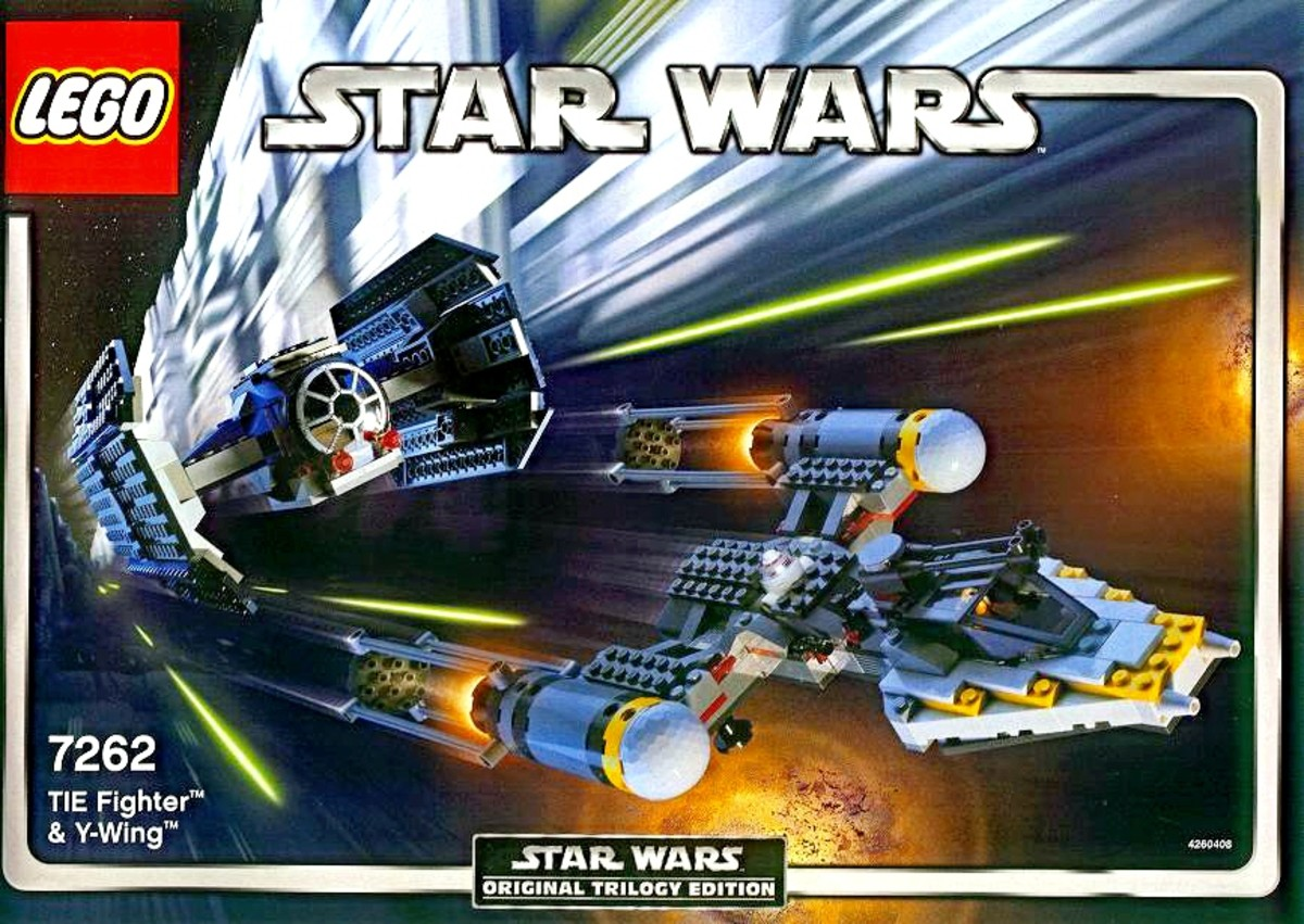 LEGO Star Wars TIE Fighter & Y-Wing 7262 Box