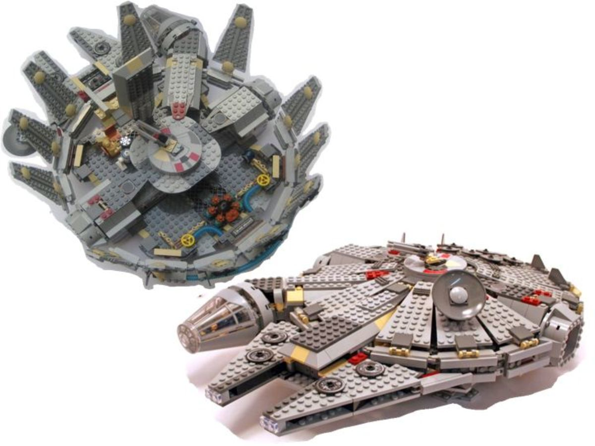 LEGO Star Wars Millennium Falcon 4504 Assembled