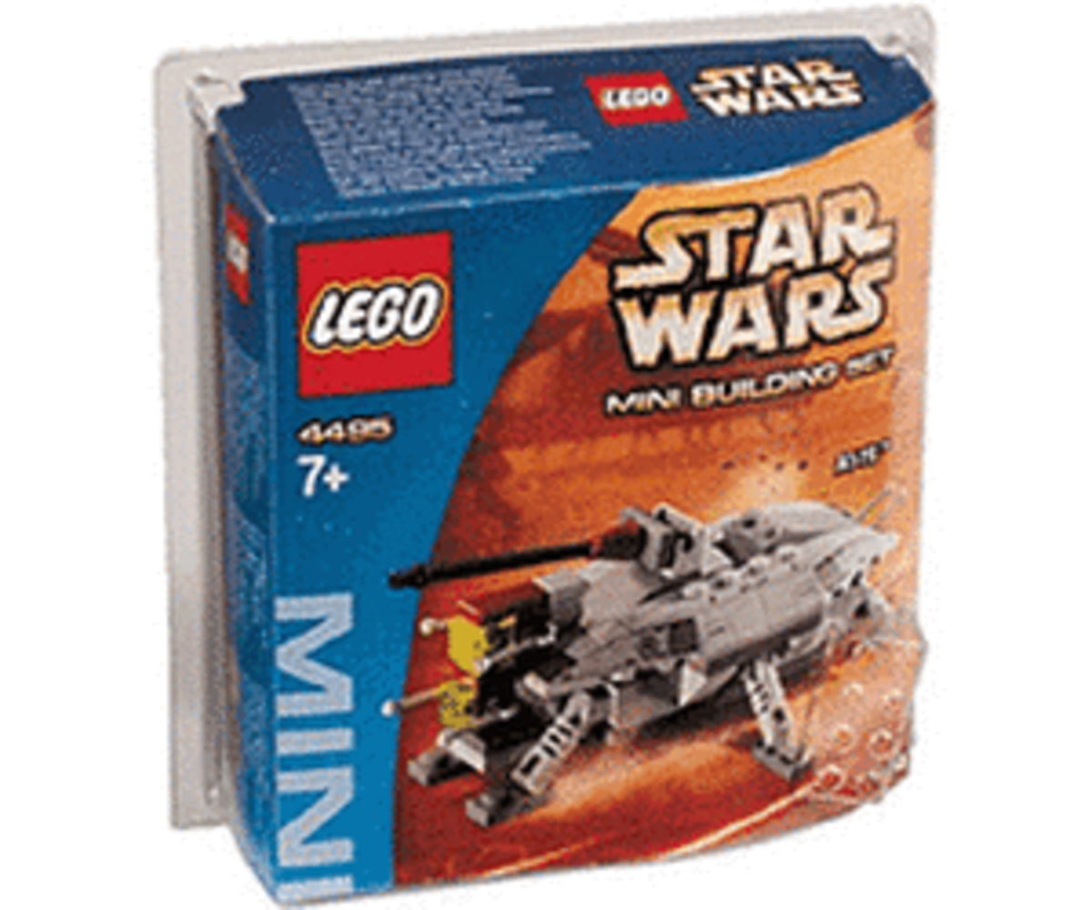 LEGO Star Wars AT-TE 4495 Box