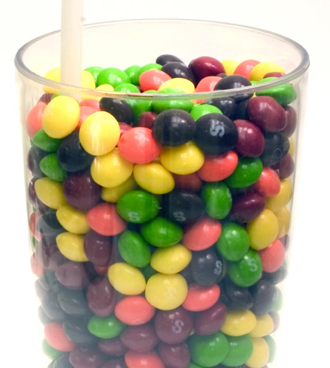 The clustering illusion explains why we often see patterns in randomly-produced objects, such as a bowl of candy.