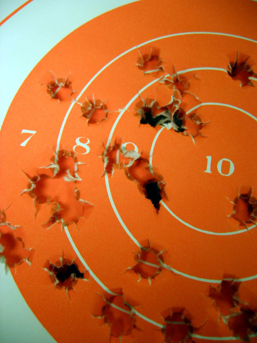 If you shoot first and draw the target afterwards, every shot can be a bull's-eye.