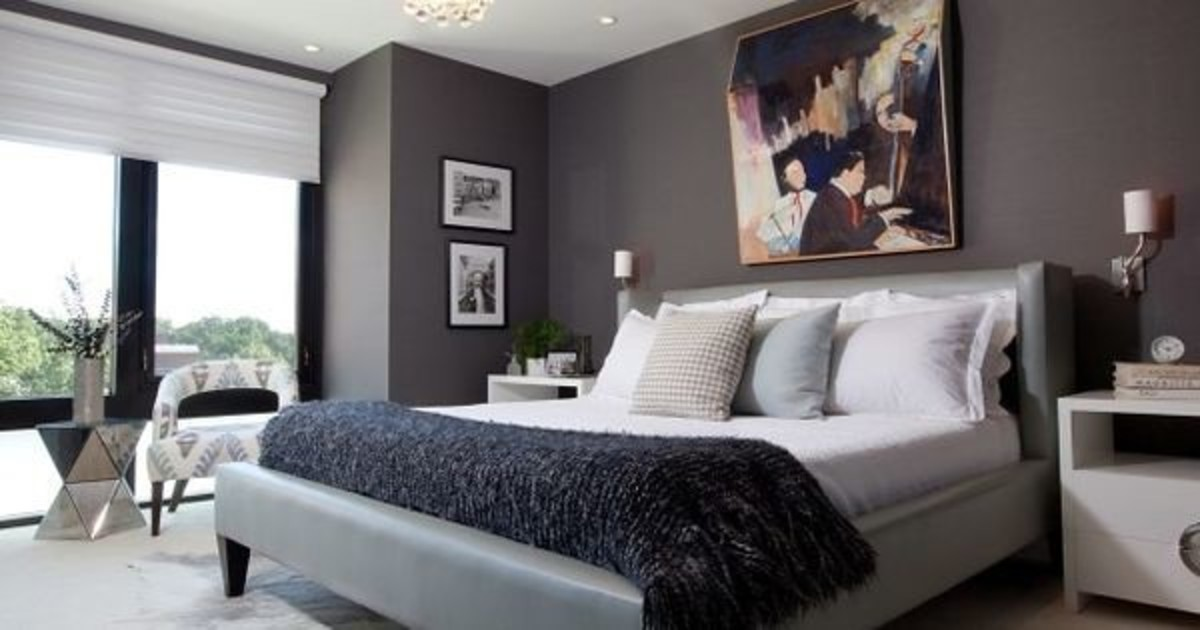Stylish Bedroom Design Ideas for Men | HubPages