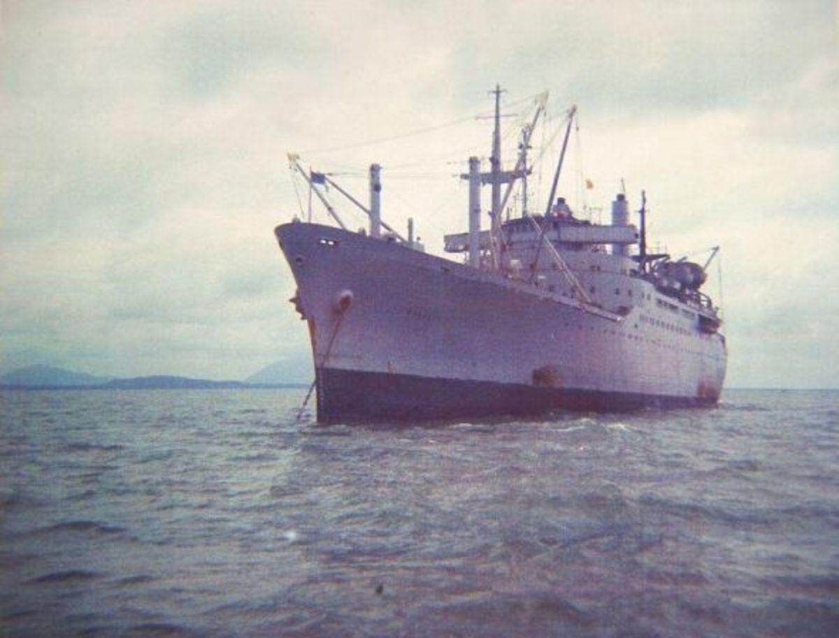 Barretts - the old bucket ship