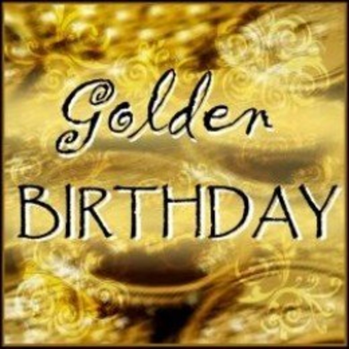 Golden Birthday Ideas