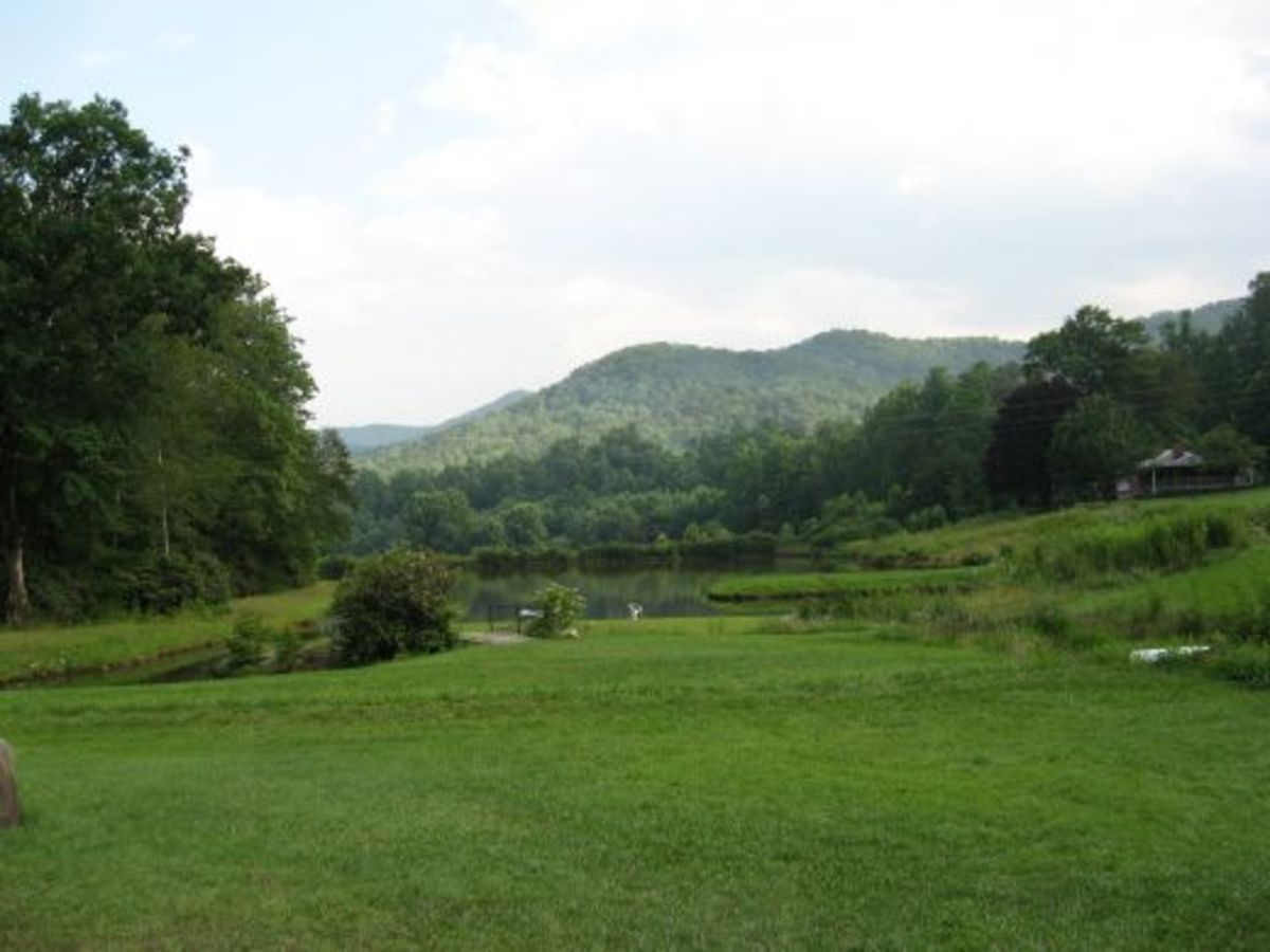 mountains of North Carolina