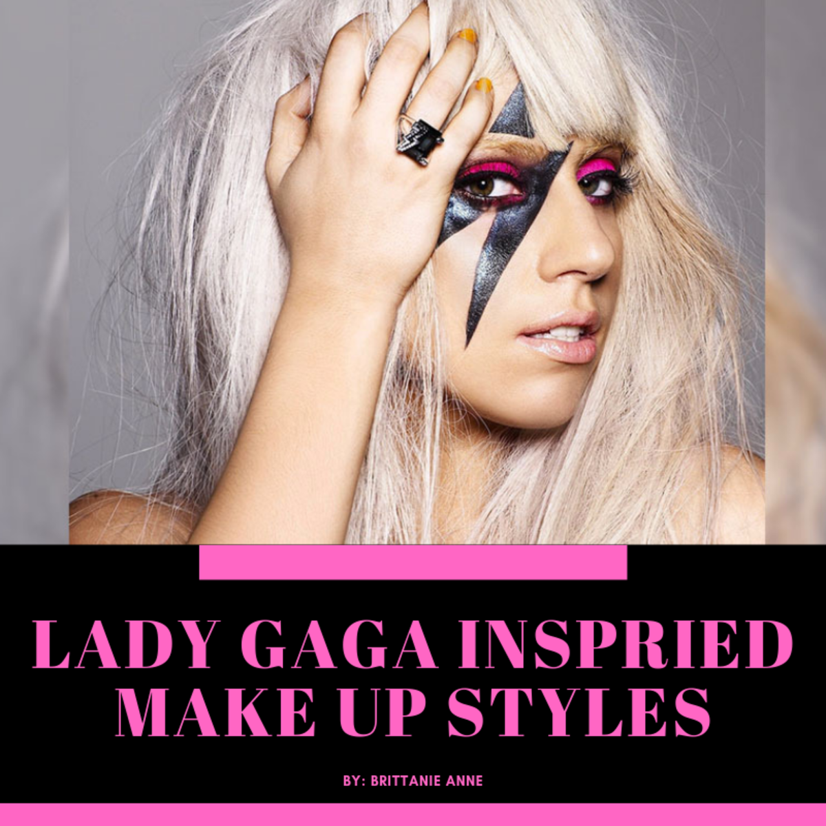Lady Gaga Inspired Makeup Looks
