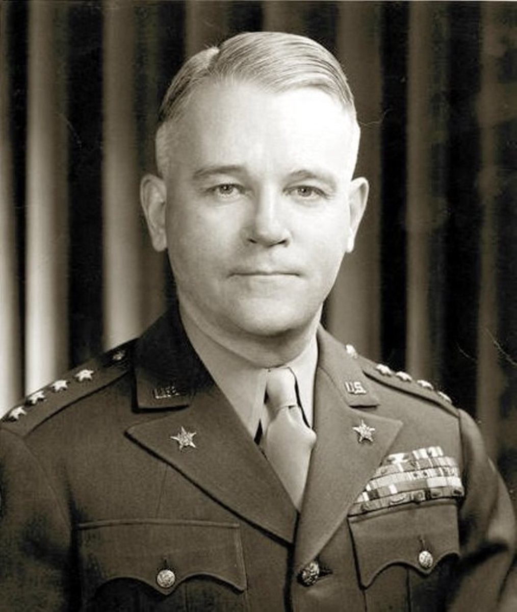 Troy Middleton, pictured when he was CO of the 45th ID.