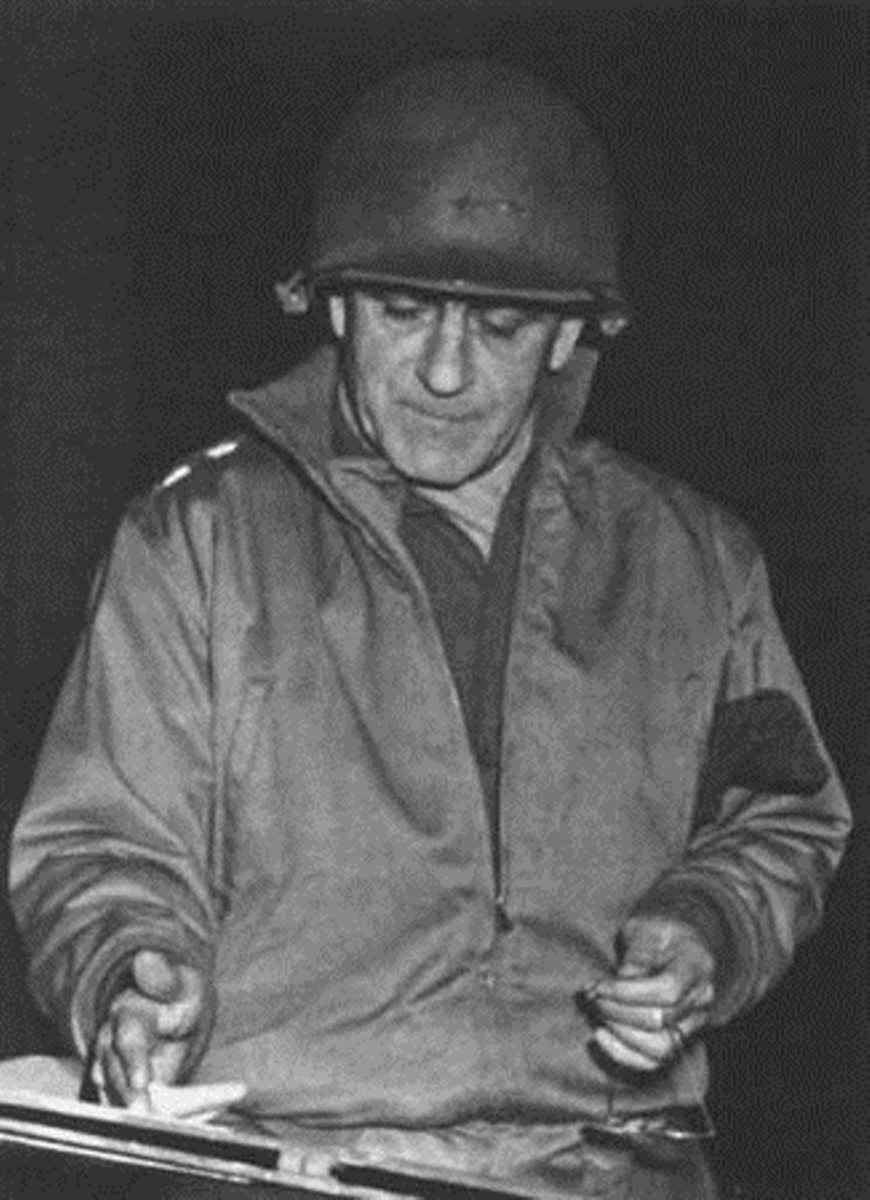 Gen. Gerow during the Huertgen Campaign