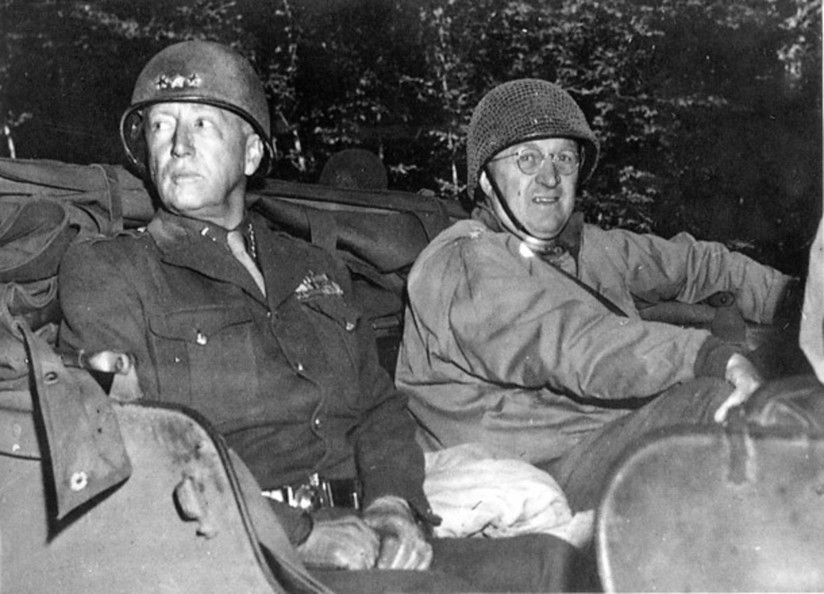 General Eddy with Patton
