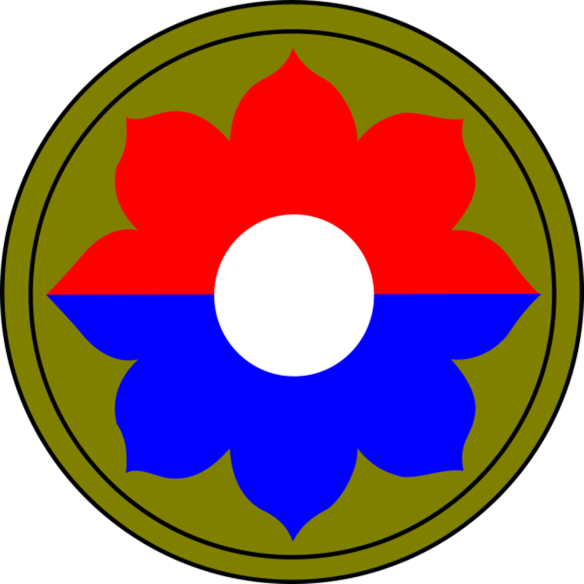 9th Infantry Division shoulder patch