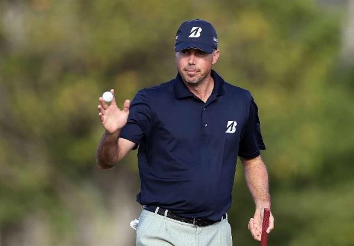 Matt Kuchar at Waialae Country Club in Honolulu
