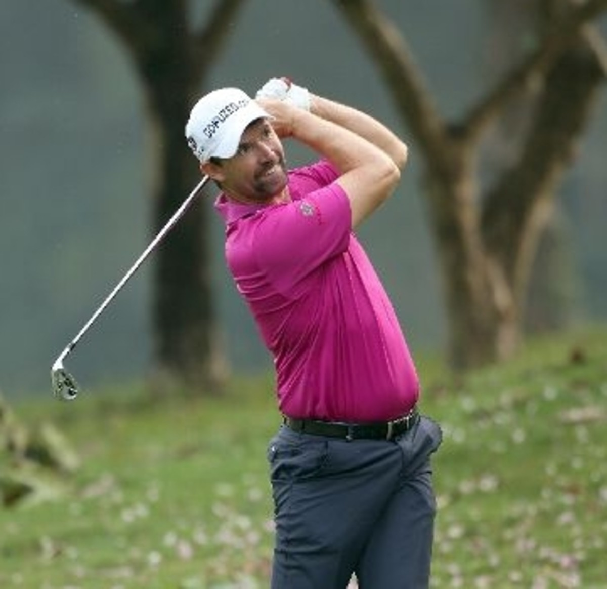 Padraig Harrington at The Hong Kong Golf Club