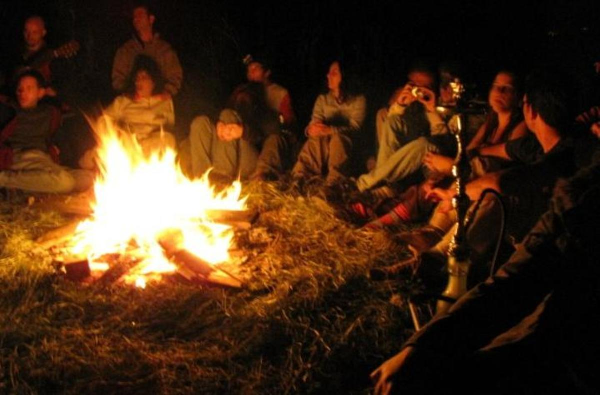 Legends grew around the campfire. The gospels chart this growth.