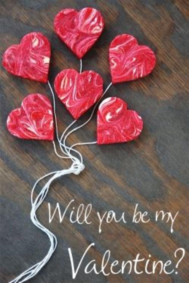 red velvet heart shape cheesecake
