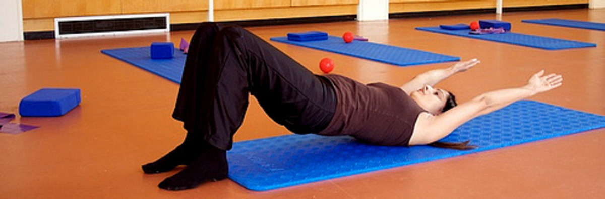 Pilates is another good low impact exercise that focuses on strengthening your core and lengthening the muscles