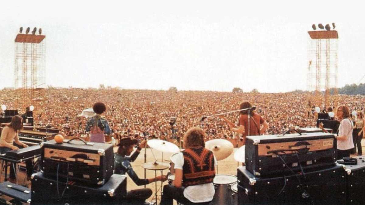"""Scene from """"Woodstock"""""""