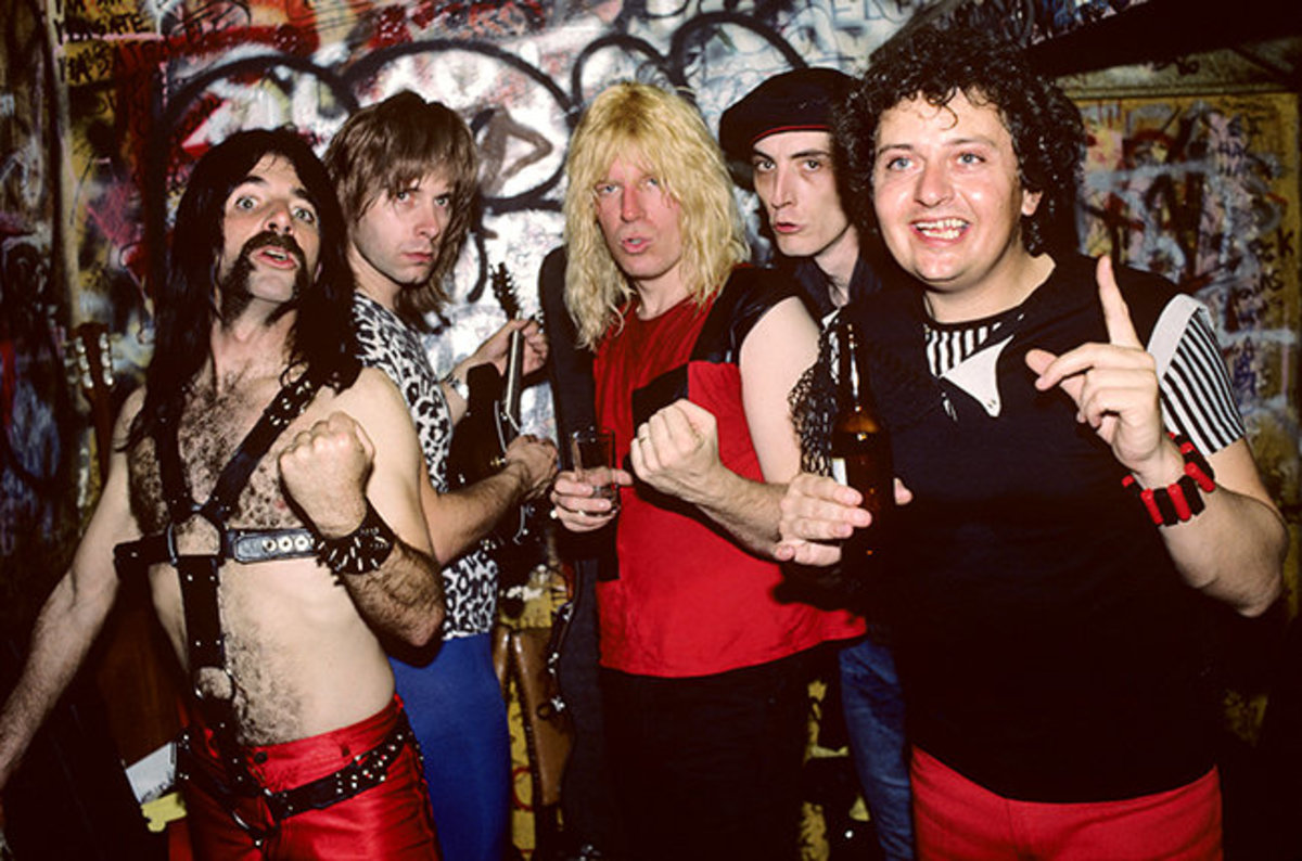 Spinal Tap (left) and friends