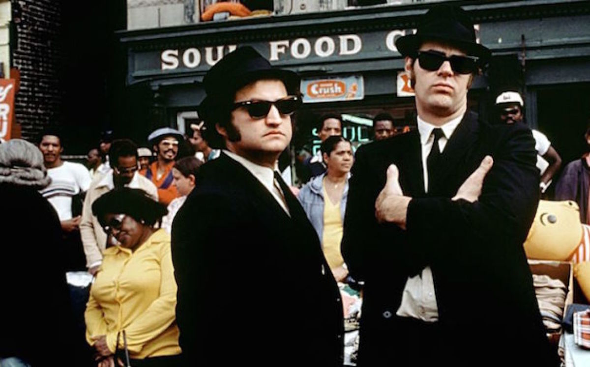 "Scene from ""The Blues Brothers"""