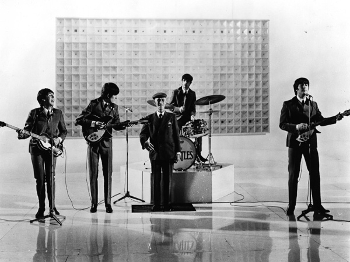 """Scene from """"A Hard Day's Night"""""""