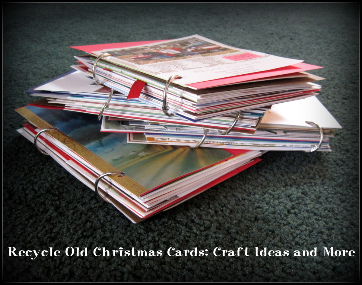 Recycle Old Christmas Cards: Craft Ideas and More
