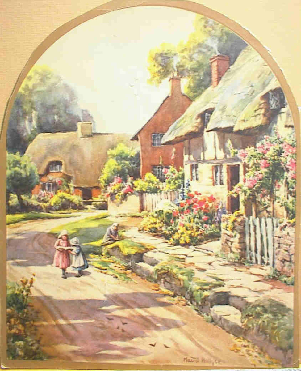 Victorian English Cottage Pictures