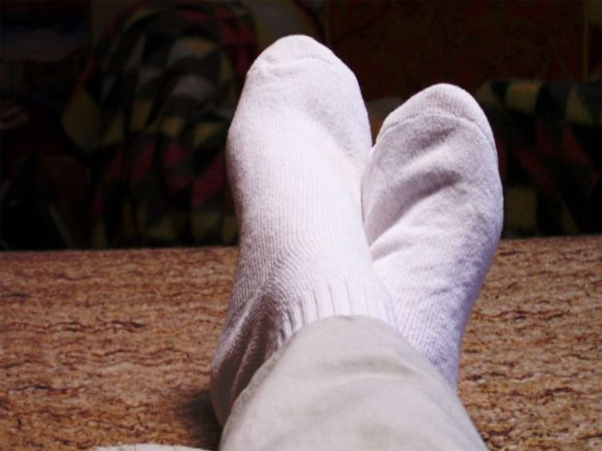 How to Brighten Your White Socks Without Using Bleach