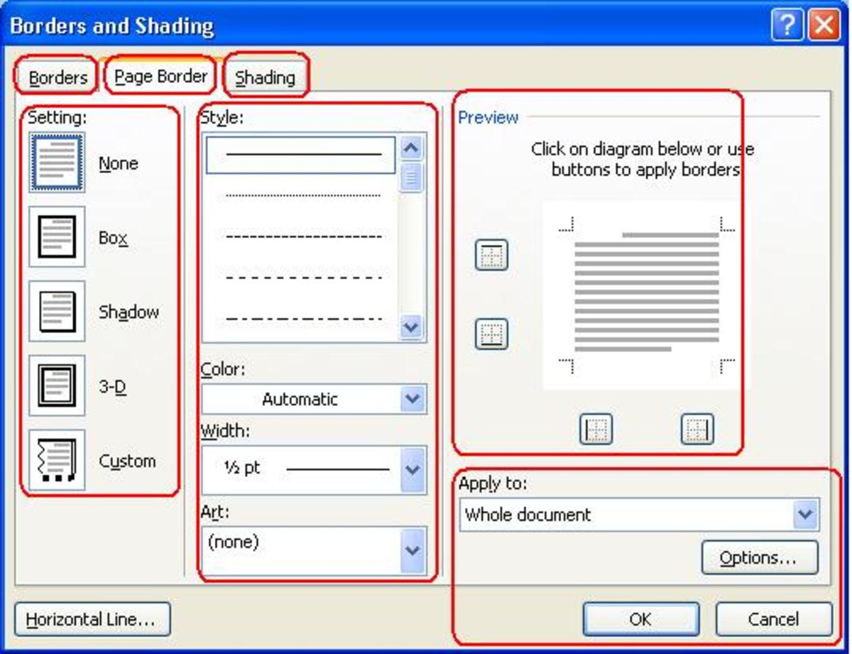 How to Use the Microsoft Office Word 10 Page Layout Ribbon Tab ...