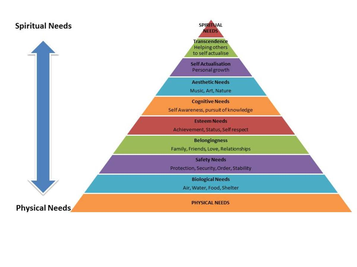 Abraham Maslow's Hierarchy of Needs - A Theory of Human Motivation