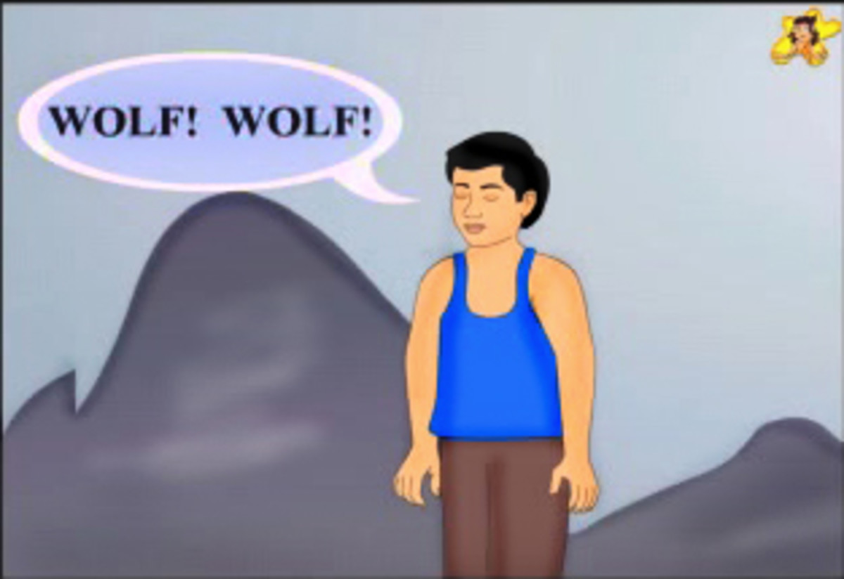 The boy who cried wolf - Ramu cries out Wolf! Wolf!