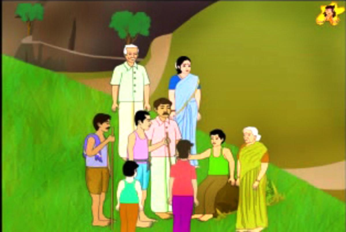'I shall avoid lying henceforth,' resolves Ramu