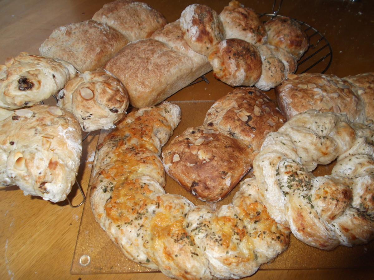 My home made bread causes food allergies in one of my daughters. :(